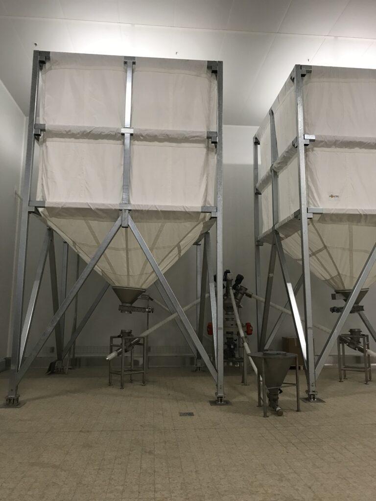 Montage de silo toile SODEBO